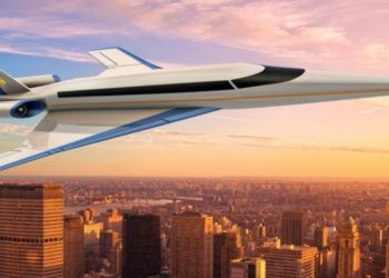 avión supersónico Spike S-512