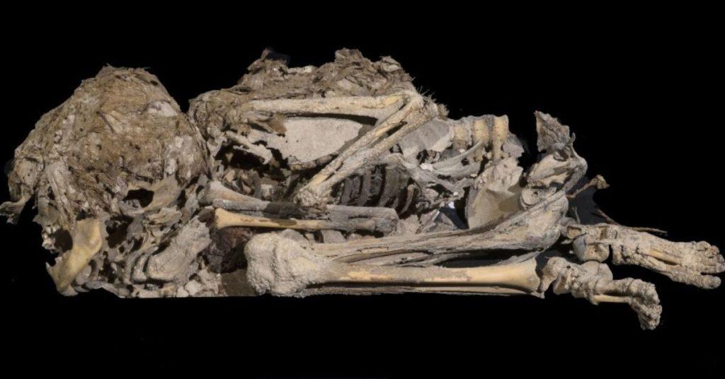 Los arqueólogos hallaron el pergamino y el esqueleto momificado en Israel