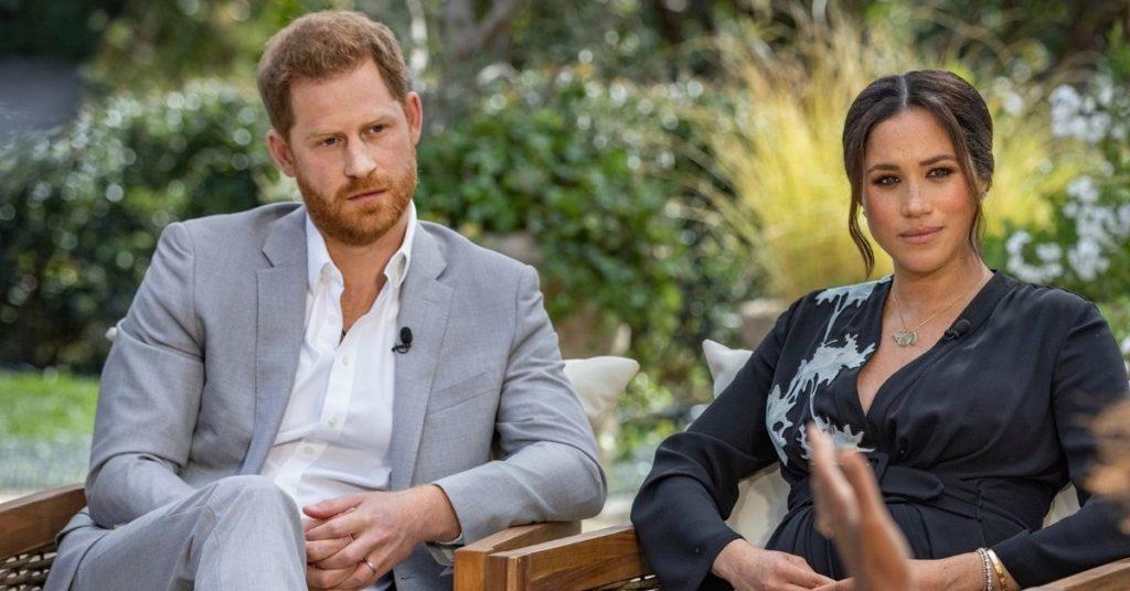 El príncipe Enrique y su esposa Meghan Markle