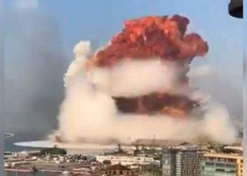 explosión en Beirut sacudió la atmósfera de la Tierra