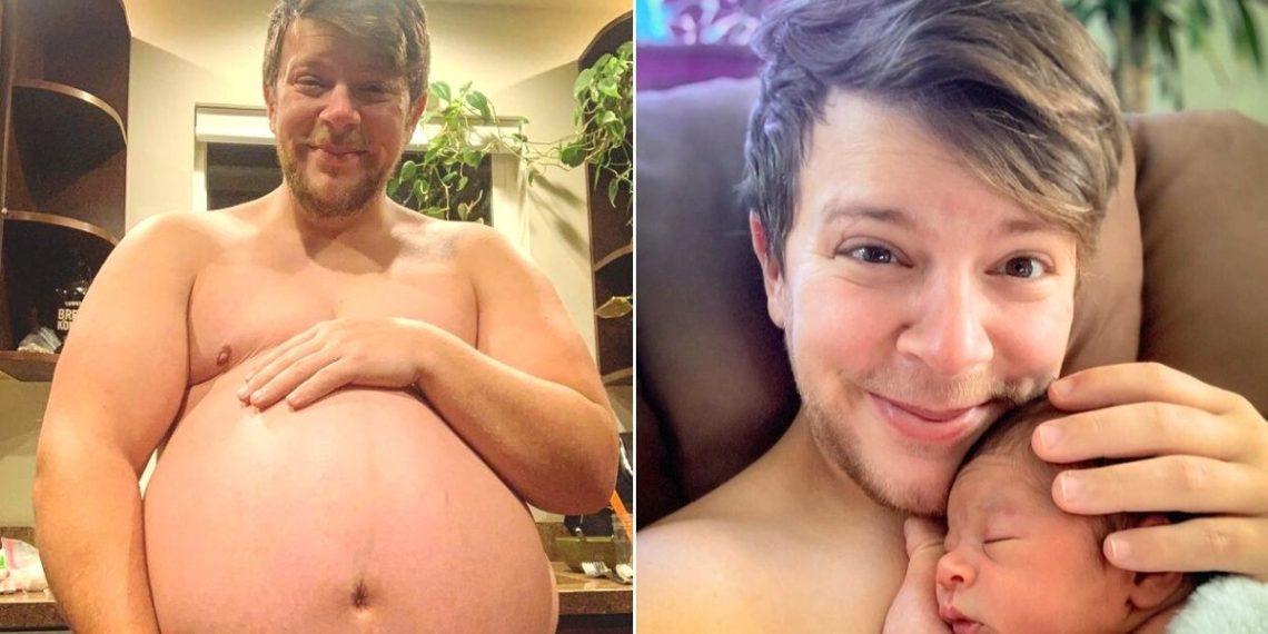 el embarazo de un hombre transgénero Danny Wakefield