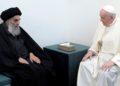 papa Francisco y el ayatolá Sistani