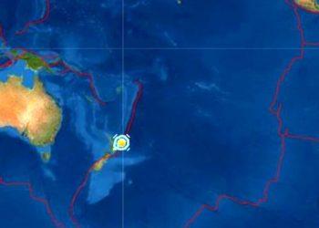 Fuerte sismo de 6.9 grados sacude a Nueva Zelanda provocando una alerta de tsunami
