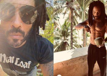 ¿56 años, quién? Lenny Kravitz sorprende con cuerpo súper tonificado en redes