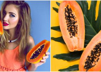 Mascarilla de papaya: una opción natural para rejuvenecer el contorno de ojos. Foto: Freepik
