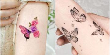 Tatuajes de mariposa: una opción linda y delicada de plasmar un detalle coqueto en la piel