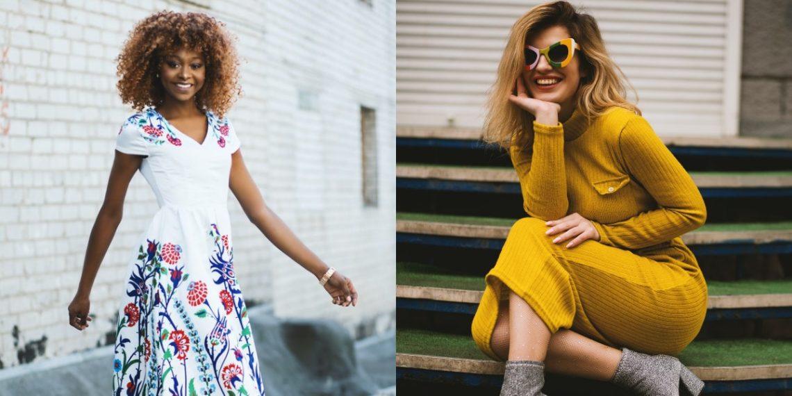 Prácticos y lindos vestidos de primavera perfectos para mayores de 40 años