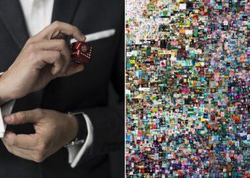multimillonario impone récord al comprar obra de arte digital