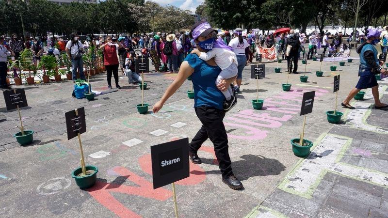 Protestas mujer