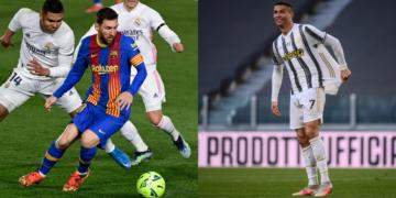 tres futbolistas han jugado con Cristiano y Messi