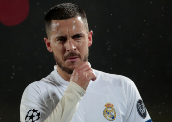 Hazard no ha podido despegar en el Real Madrid