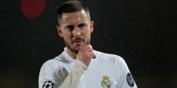 Hazard no ha podido despegar en el Real Madrid