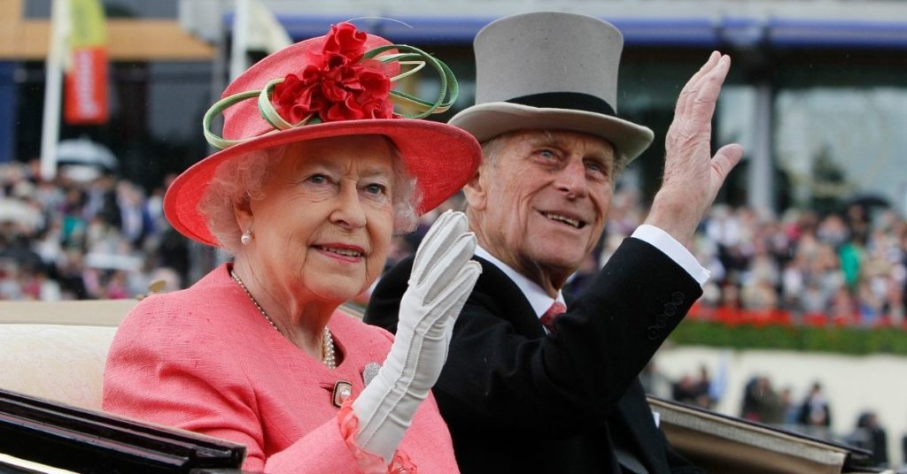 la reina Isabel II y el duque Felipe de Edimburgo