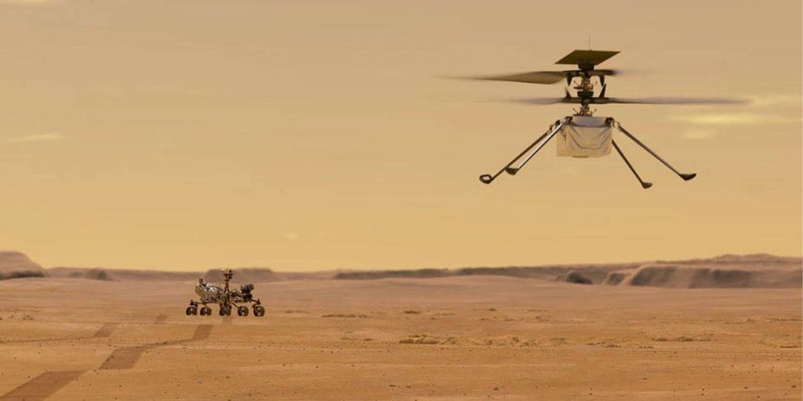 La Nasa logra volar el helicóptero Ingeunity en Marte
