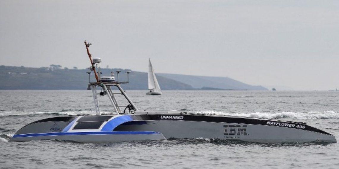 barco inteligente Mayflower cruzará el Océano Atlántico