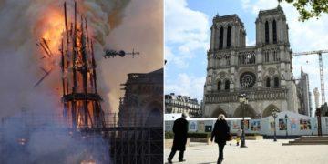 reconstrucción de la catedral de Notre Dame