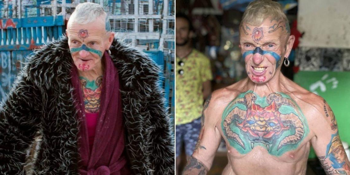 abuelo con tatuajes Vladimir Sedakov