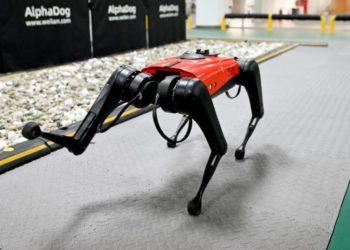 perro robot AlphaDog en China