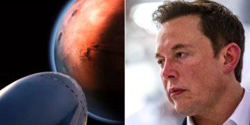 """Elon Musk reconoce que es probable que """"mucha gente"""" morirá en las misiones espaciales a Marte. Foto: SpaceX / AFP"""
