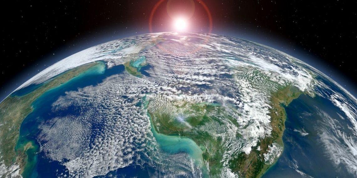 impacto ecológico en la superficie de la Tierra