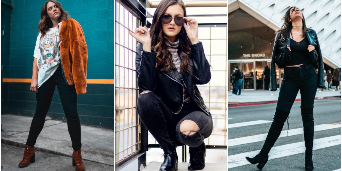 Trucos de estilo que debes conocer para lucir elegante usando jeans negros