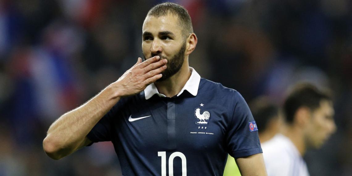 Benzema jugará la Euro con Francia
