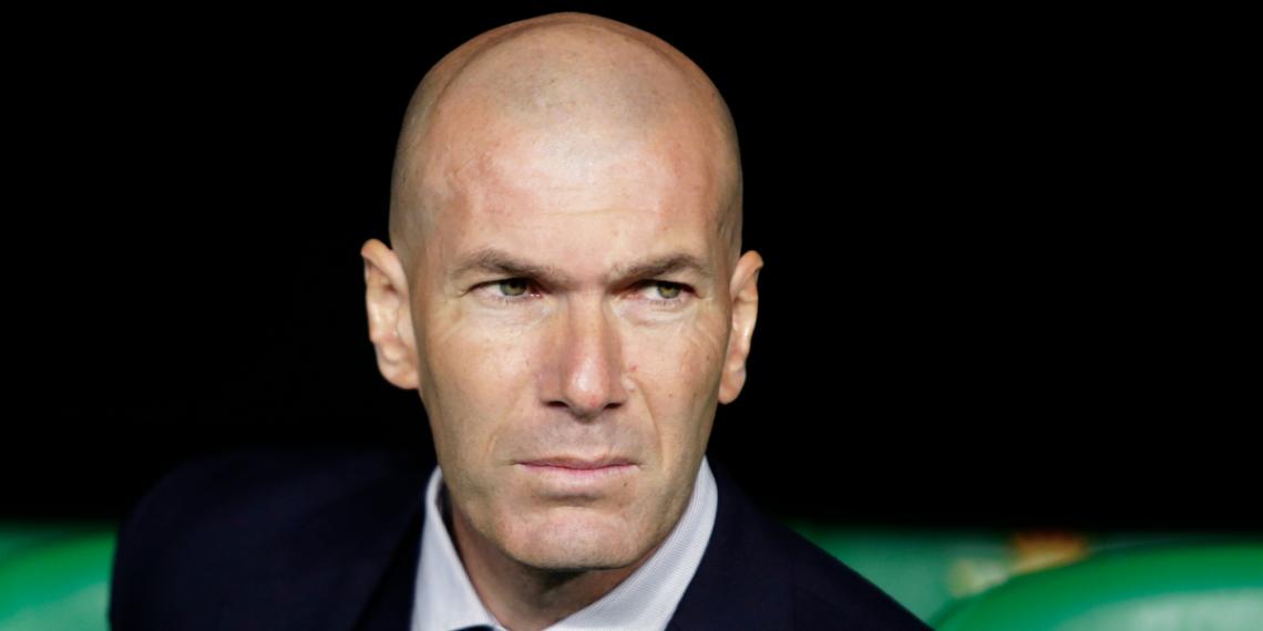 Zidane se despidió del Real Madrid
