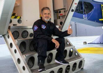 Jean Maggi, el argentino persona con discapacidad en viajar al espacio