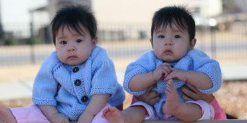 hermanas gemelas en China