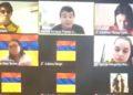 profesor se conmueve por sus estudiantes en paro en Colombia