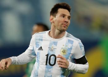 Messi deslumbra con Argentina