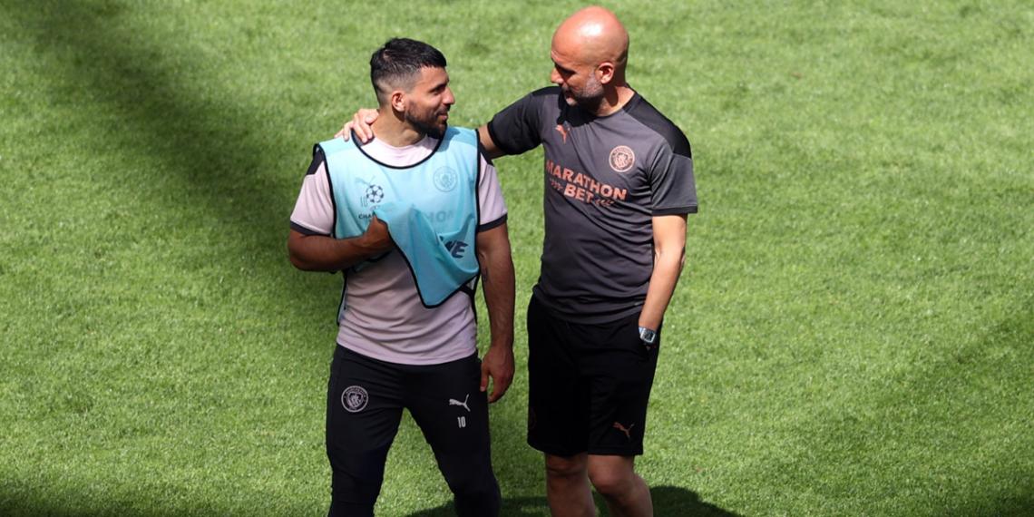 Agüero y Guardiola trabajaron juntos por cinco años