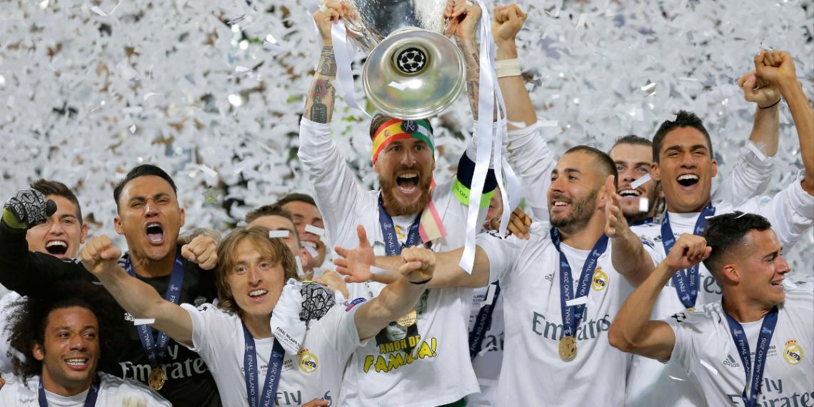 Seergio Ramos ganó 22 títulos en el Real Madrid