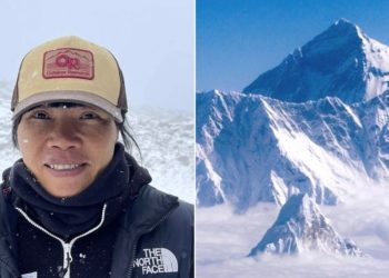 Maestra impone el récord de ascenso de una mujer al monte Everest