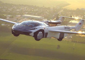 AirCar, el auto volador que logró realizar un recorrido entre dos ciudades