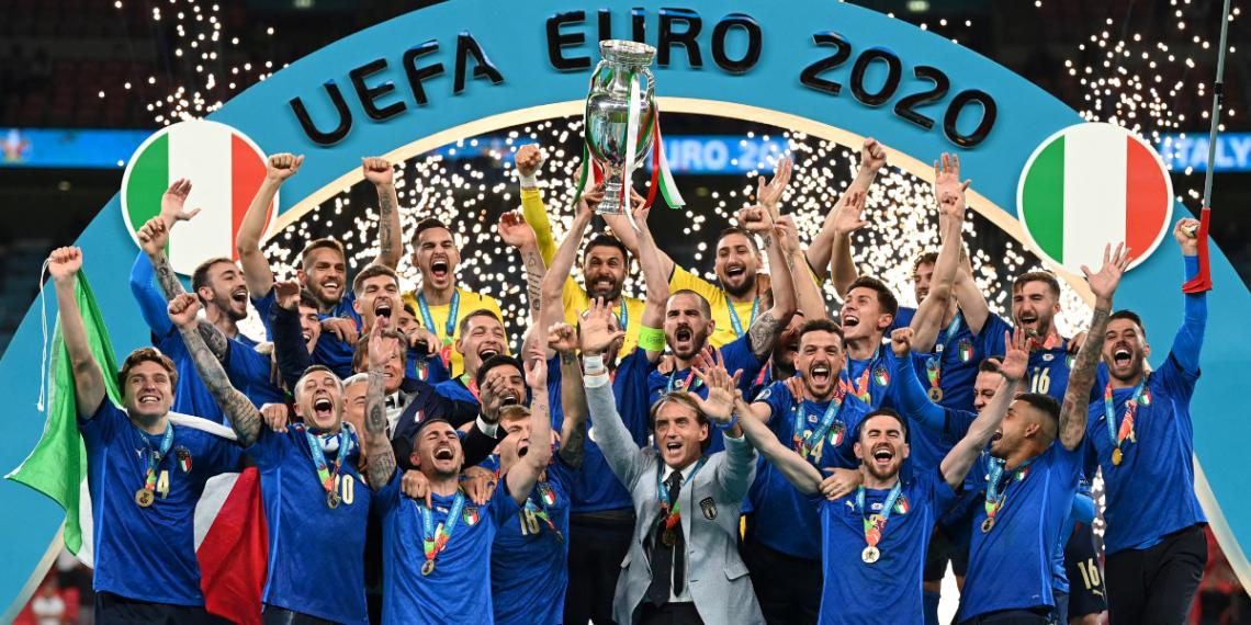 Italia se alzó con la Eurocopa