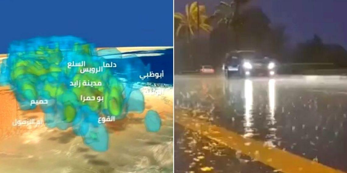 Siembra de nubes: Emiratos Árabes crea una lluvia artificial con drones