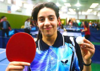 Hend Zaza, la niña de 12 años que es la atleta más joven de los Olímpicos