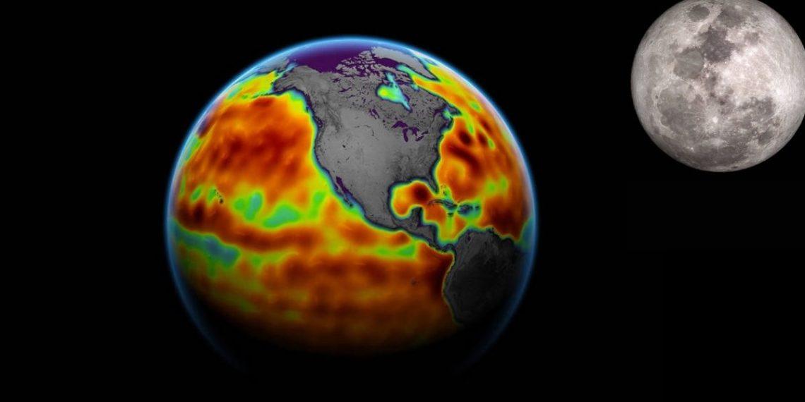Por qué la Luna podría provocar inundaciones costeras en la Tierra?