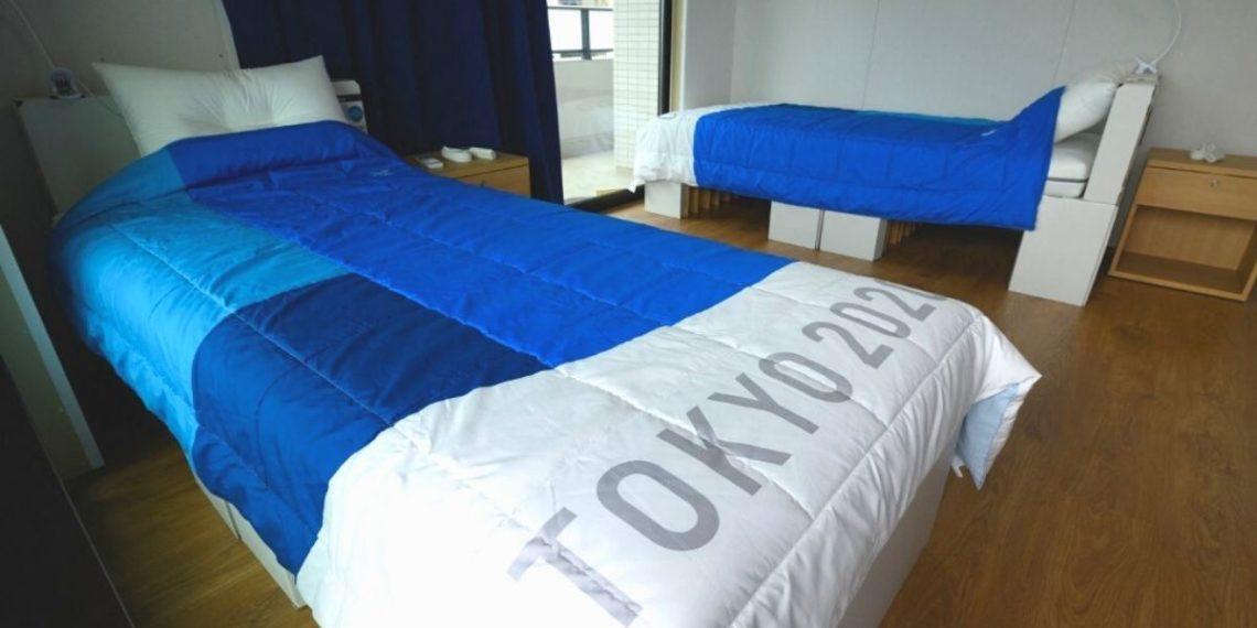 Las curiosas camas de cartón para deportistas de los Juegos Olímpicos