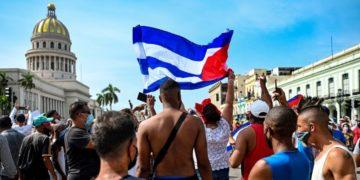 Estados Unidos y Rusia se pronuncian sobre las protestas en Cuba.