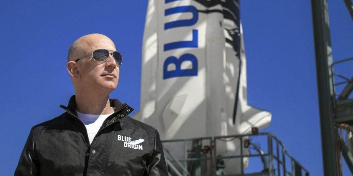 ¡Turismo interestelar! Jeff Bezos cumplió su sueño de viajar al espacio