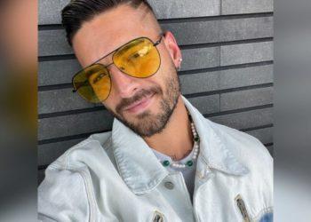 El cantante Maluma publicó unos videos de los apasionados besos que le ha dado a sus fans en los conciertos. Foto: Maluma/ Instagram.