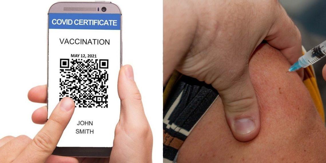 América Digital Joven se tatúa certificado de vacunación de COVID-19 Foto: Pixabay