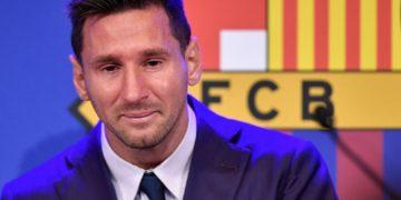 Lionel Messi de despidió del Barcelona