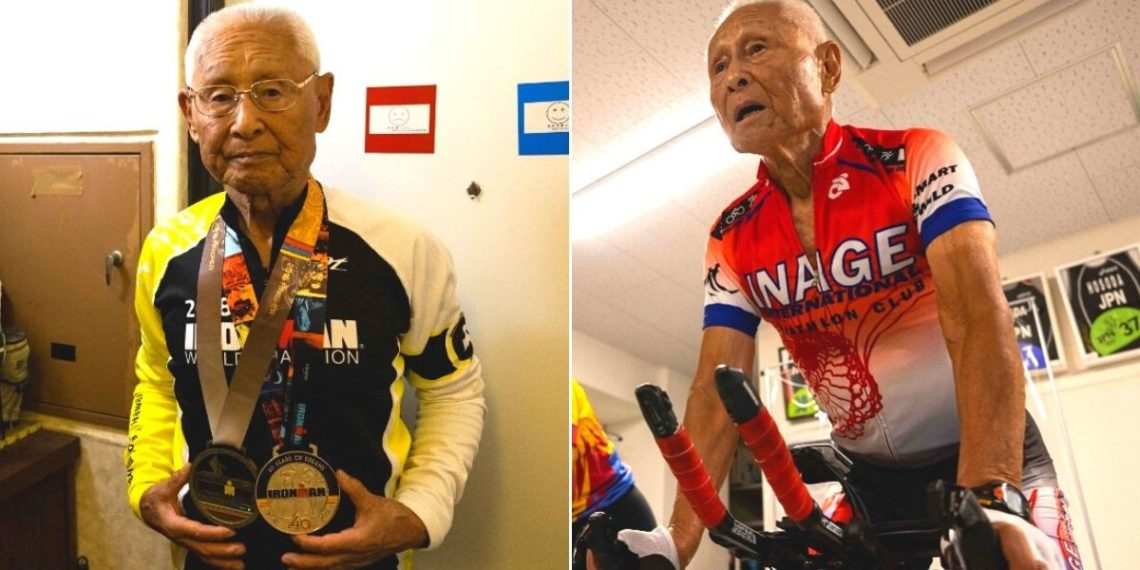Hiromu Inada, el abuelo que correrá el Ironman a sus 88 años