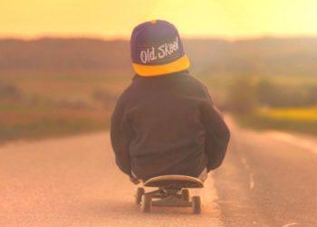 Luan Fernandes, el niño de cinco años que domina el skate a pesar de tener una prótesis en su pierna