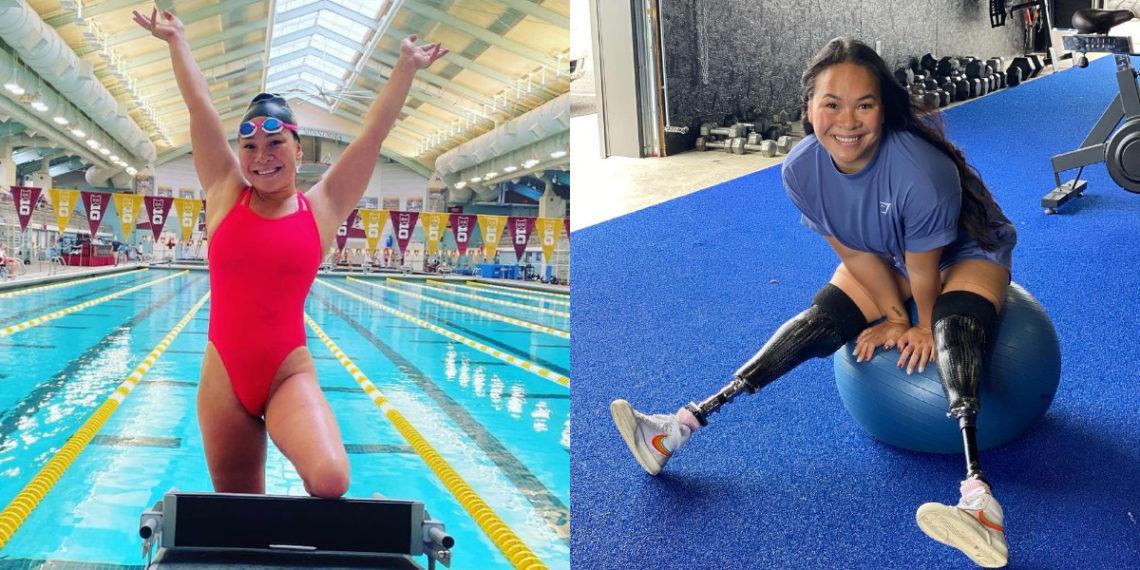La inspiradora historia de Haven Shepherd: perdió ambas piernas y aún así se convirtió en una nadadora de élite