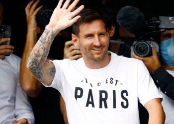 Lionel Messi llega a Francia