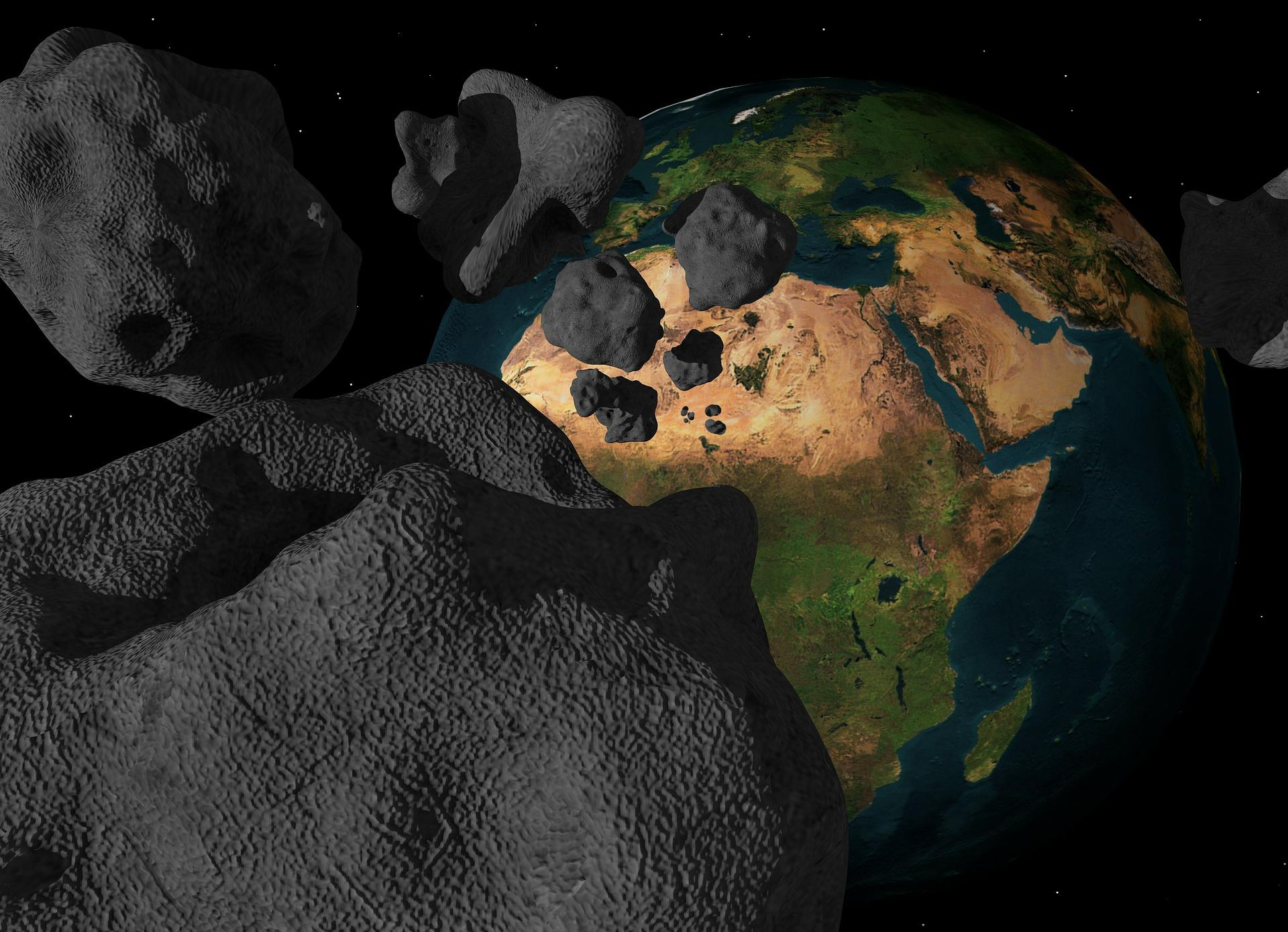 Asteroide! Foto: Pixabay
